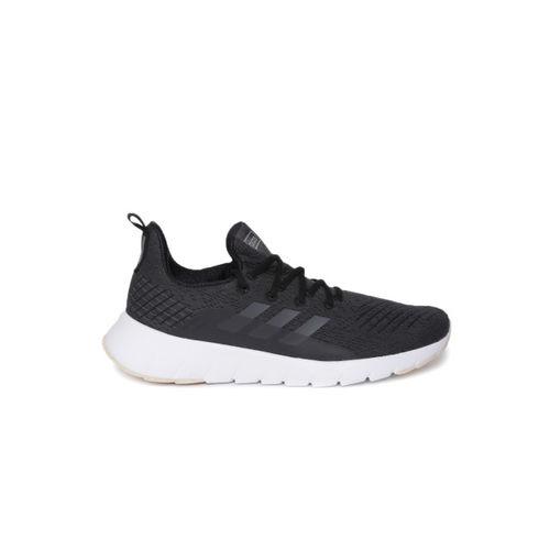 ADIDAS Men Charcoal Grey ASWEEGO Running Shoes