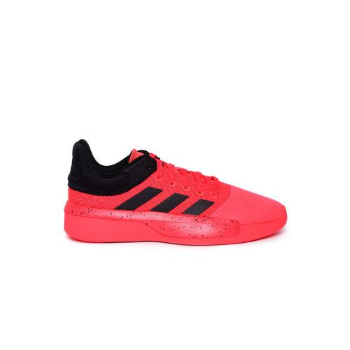 ADIDAS Men Pink Pro Adversary Low 2019 Basketball Shoes