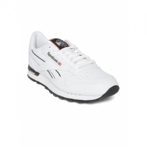 Reebok Classic Men White Leather MU Sneakers