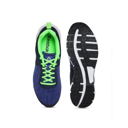 Reebok Men Blue Woven Design Performance Run Pro LP Running Shoes