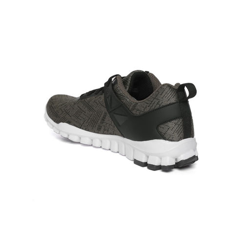 Reebok Men Olive Green & Black Train-O-Grace Running Shoes