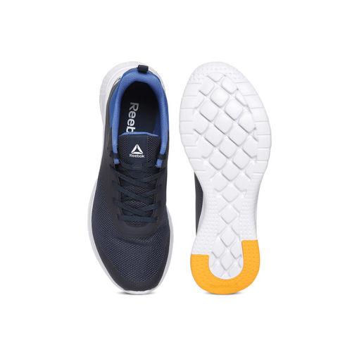 Reebok Men Navy Blue Print Lite Rush 2.0 Running Shoes