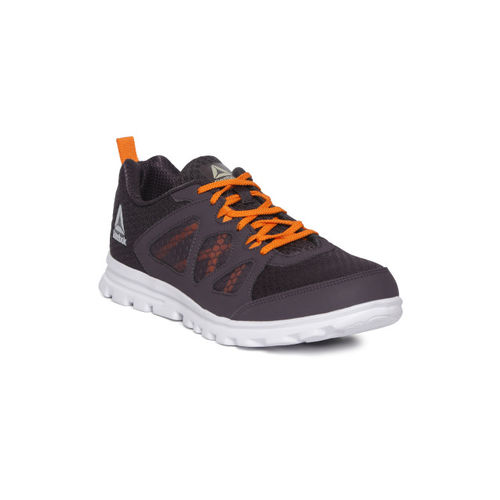 Reebok Men Purple Textured Affect Extreme Running Shoes