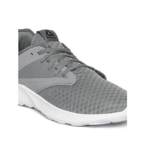 Reebok Men Grey Textured Cruiser Running Shoes