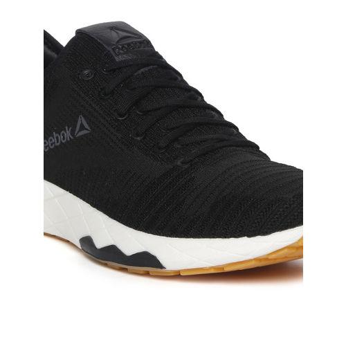 Reebok Men Black Textured Floatride 6000 Running Shoes