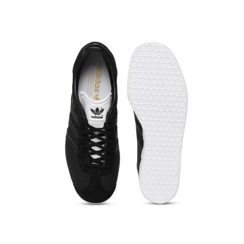 adidas womens black gazelle