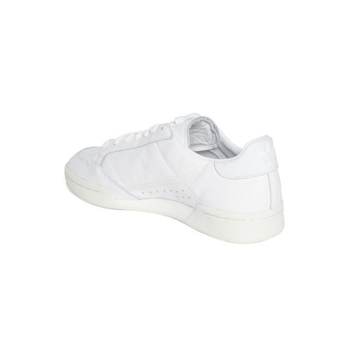 ADIDAS Originals Men White Continental 80 Leather Sneakers