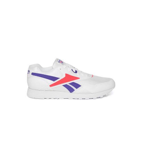 Reebok Classic Men White Rapide MU Sneakers