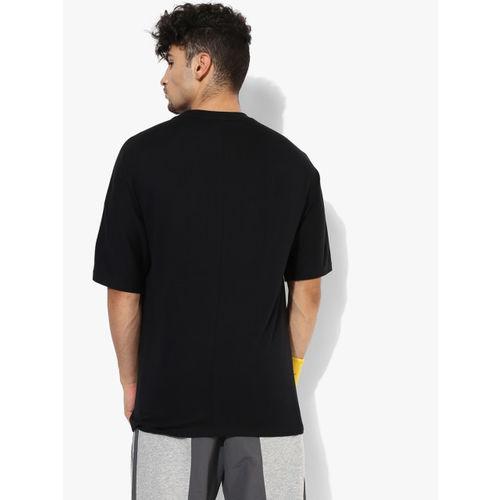 ADIDAS Originals Men Black Printed Round Neck T-shirt