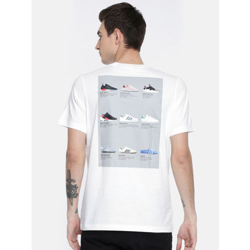 ADIDAS Originals Men White CATALOG SS T-Shirt