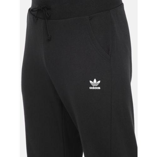 ADIDAS Originals Men Black Solid Track Pants