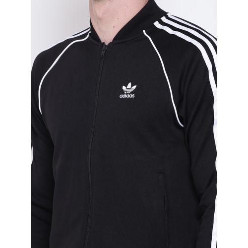 ADIDAS Originals Men Black SST TT Sporty Jackets