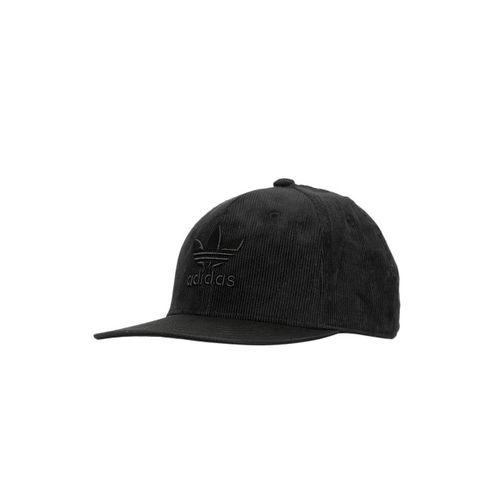 ADIDAS Originals Unisex Black TREF HERIT SNB Embroidered Snapback Cap
