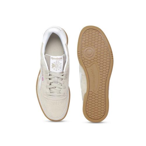 Reebok Classic Men Beige Revenge Plus MU Sneakers