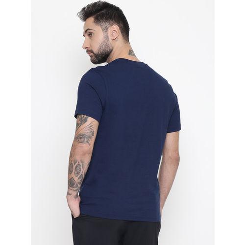Reebok Classic Men Navy Blue Printed F GR T-shirt