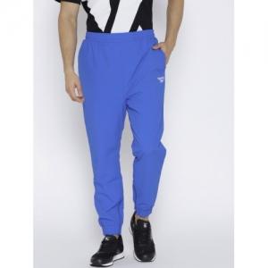 Reebok Classic Men Blue Solid LF Joggers
