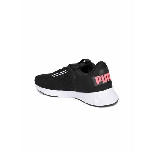 Puma Women Black Flyer Modern Running Shoes