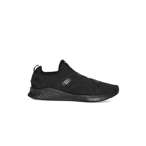 Puma Unisex Black NRGY Star Slip-On Walking Shoes
