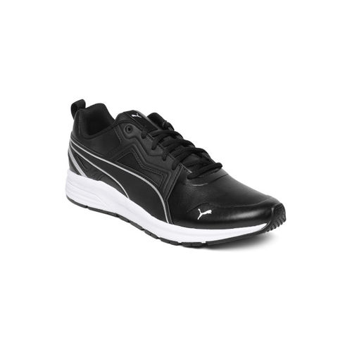 Puma Unisex Black Pure Jogger SL Running Shoes