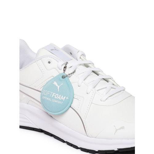 Puma Unisex White Jogger SL Running Shoes
