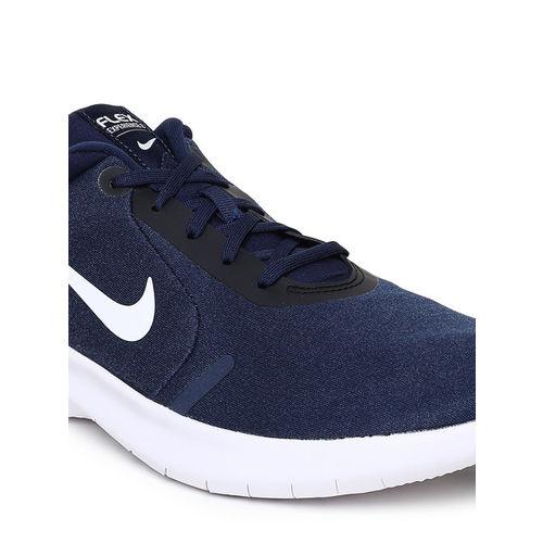 Nike Men Navy Blue FLEX EXPERIENCE RN 8 Running Shoes