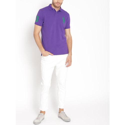 Polo Ralph Lauren Custom Slim Fit Mesh Polo