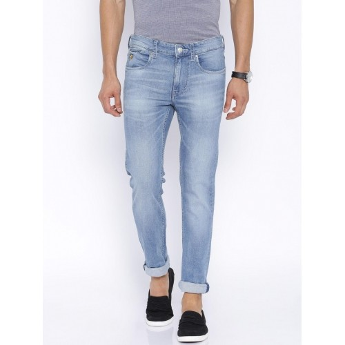 440d7142e8 Buy U.S. Polo Assn. Blue Washed Regallo Skinny Jeans online ...