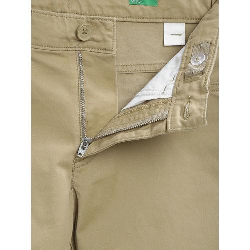 United Colors of Benetton Boys Khaki Trousers