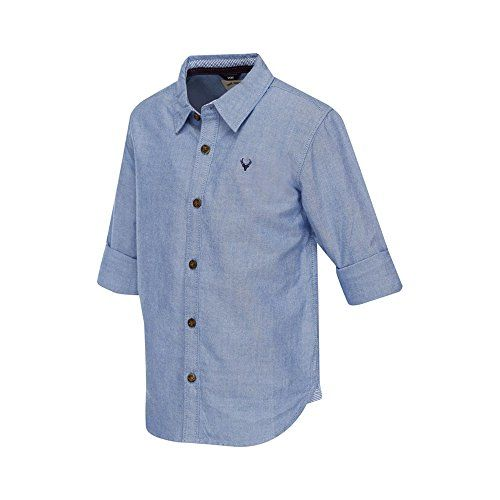Allen Solly Junior Boys Plain Shirt