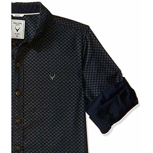 Allen Solly Junior Boy's Floral Slim fit Shirt