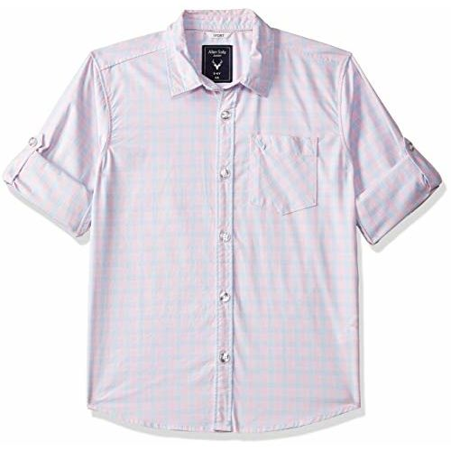 Allen Solly Junior Boys' Checkered Regular Fit Shirt