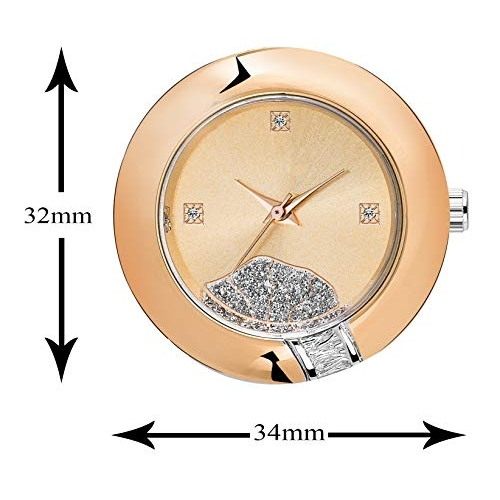 OM High Quality Precious American Diamond Watch for Luxurious Fashionable- LR-250