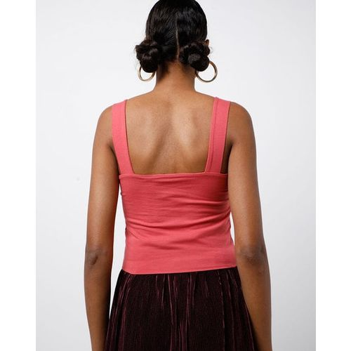 TALLY WEiJL Textured Tank Top