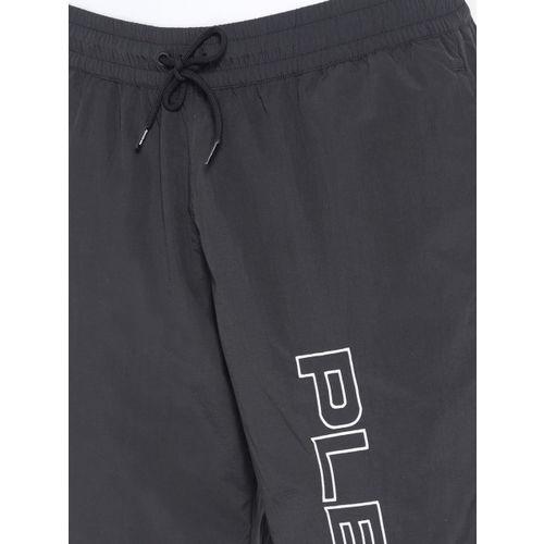 Reebok Classic Unisex Black Solid V Pleasures Track Pants