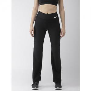 Nike Women Black Solid GYM NFS Track Pants