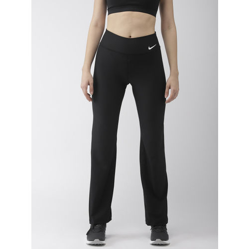 Nike Women Black Solid GYM NFS Track Pants