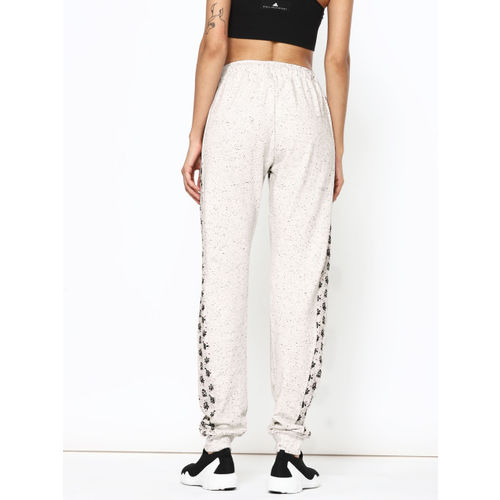 Dexter by Kook N Keech Women Off-White & Black Printed Joggers