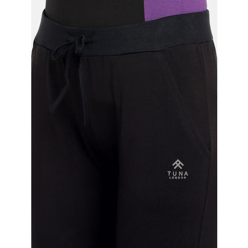 Tuna London Women Black Joggers