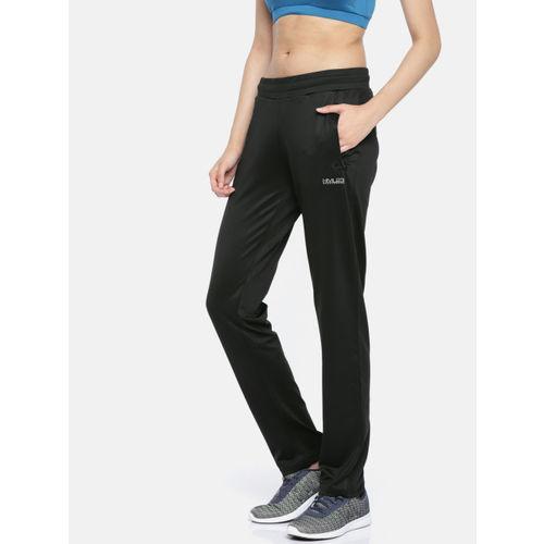 hummel Women Black Regular Fit Track Pants