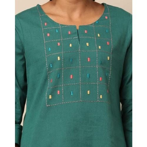 Project Eve IW Fusion High-Low Tunic with Embroidery