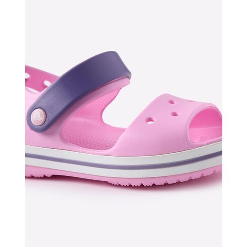CROCS Colourblock Slingback Sandals with Cutouts