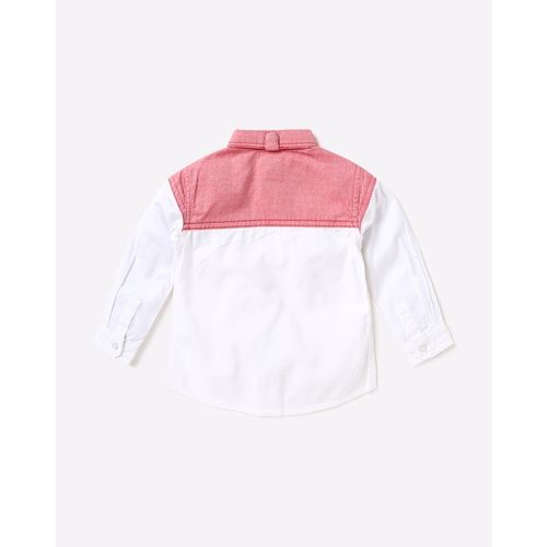 UFO Colourblock Shirt with Patch Pocket