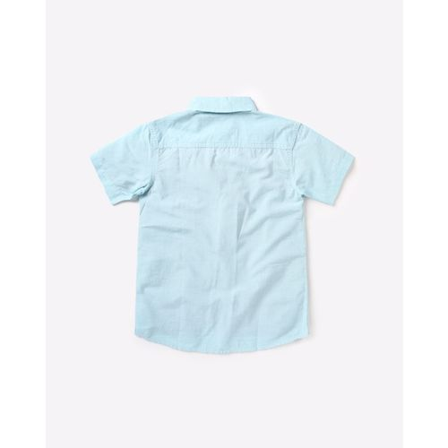 UFO Cotton Shirt with Patch Pocket