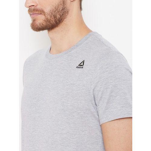 Reebok Men Grey Melange TE SL Classic Training T-shirt