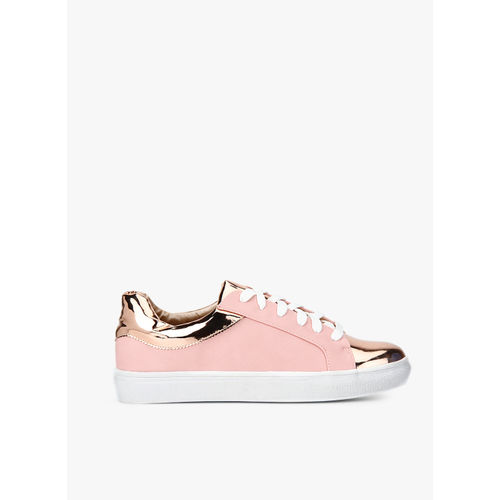 Carlton London Pink Casual Sneakers