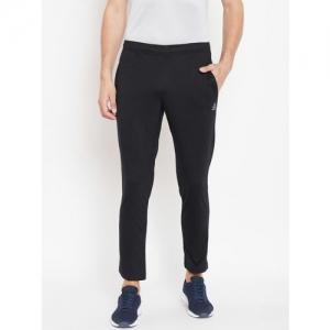 Reebok Men Black Training Essentials Jersey Track Pants
