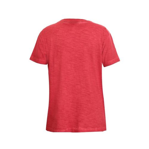 UFO Kids Red Printed T-Shirt