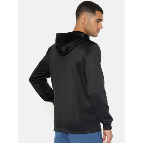 Reebok Men Black THERMOWARM Solid Sweatshirts