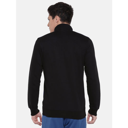 Reebok Men Black Solid ELEMENT TRACK Sweatshirt