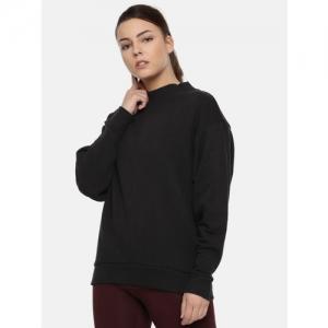 Reebok Black TE CREW Sweatshirt